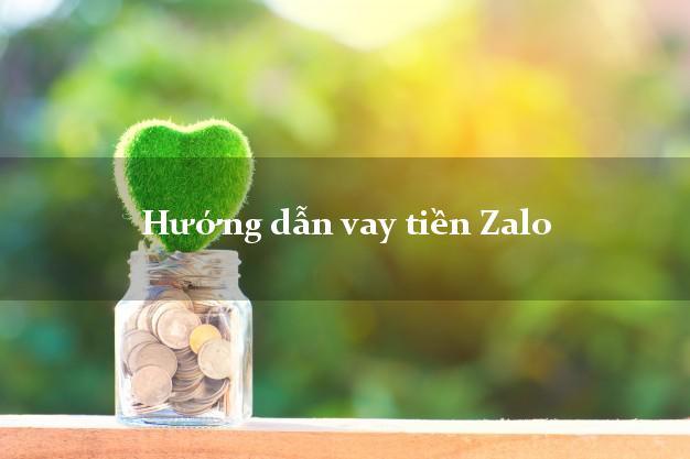 Hướng dẫn vay tiền Zalo
