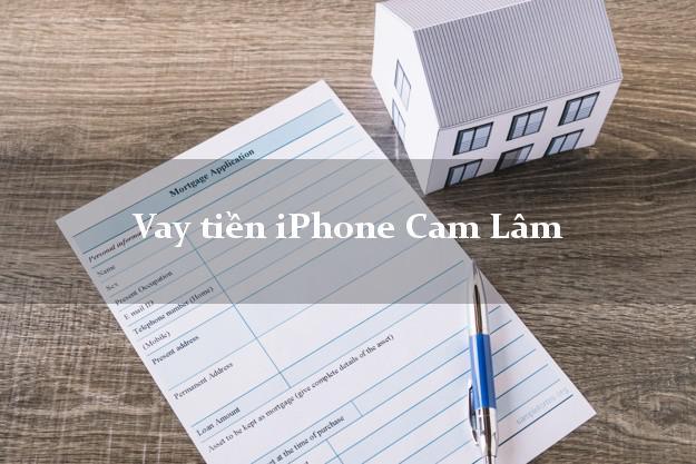 Vay tiền iPhone Cam Lâm Khánh Hòa