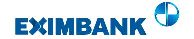 Hướng dẫn vay tiền EximBank tháng 5 2021